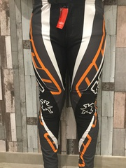 Pantalon HEBO Gris/orange
